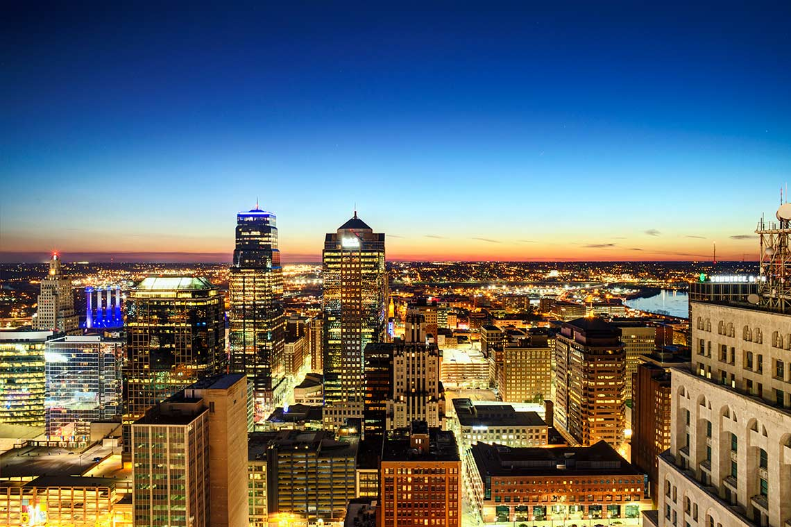 Kansas-City-Night-Skyline-Downtown